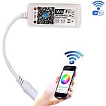 Bijgewerkte wifi draadloze led controller voor rgb led strip lichten met android / ios mobiele telefoon16 miljoen kleuren 20 dynamische