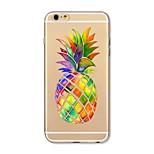 Чехол для iphone 7 плюс 7 обложка прозрачный узор задняя крышка чехол плод ананас мягкий tpu для яблока iphone 6s плюс 6 плюс 6s 6 se 5s