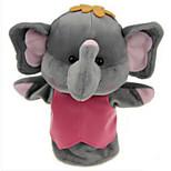 Пальцевая кукла Слон Хлопковая ткань