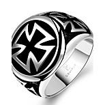 Муж. Кольца на вторую фалангу Бижутерия Панк Нержавеющая сталь Крестообразной формы Бижутерия Назначение Повседневные