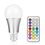 12W Умная LED лампа A60(A19) 15 Integrate LED 700-800 lm RGB + теплый RGB + белый Диммируемая На пульте управления Декоративная V 1 шт.