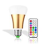 10W Умная LED лампа 32 Integrate LED 550 lm RGB + теплый RGB + белый Диммируемая На пульте управления Декоративная AC 85-265 V 1 шт.