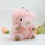 Сумка / телефон / брелок шарм свинья мультфильм игрушка искусственный мех