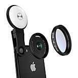Fanbiya объектив для мобильного телефона 20x объектив с объективом для объективов с линзами со светодиодной подсветкой 37 мм из