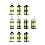 4W Двухштырьковые LED лампы 120 SMD 2835 320 lm Тёплый белый Белый DC 12 V 10 шт. G4