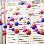 Набор (20 шт) случайных цветов eva рождественские украшения цепи шара украшенные новогодние свадебные торжества праздничная сцена