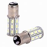 2шт 6w белый dc12v 1157 27smd 5630 светодиодный фонарик лампа задний фонарь задний фонарь стоп-сигнал