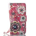 Чехол для Apple ipod touch 5 touch 6 чехол чехол для карточного кошелька с подставкой флип-паттерн полный корпус чехол цветок твердая кожа