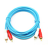2RCA Кабель, 2RCA to 2RCA Кабель Male - Male 3.0M (10Ft)