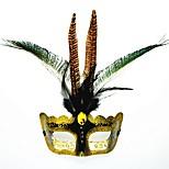1pc для halloween mask costume party masquerade день рождения праздничный декор цвет случайный