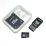 Карточка памяти microsdhc 16gb с карточкой usb и приспособлением sdhc sd