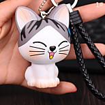 Сумка / телефон / брелок шарм кошка мультфильм игрушка телефон ремень ПВХ