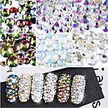 800 Декор для нейл-арта горный хрусталь жемчуг макияж Косметические Ногтевой дизайн