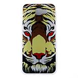 Case voor Samsung Galaxy J7 (2017) j5 (2017) Case Cover Tiger Head Pattern 3D Reliëf Melk TPU Materiaal Telefoon Hoesje voor Galaxy J3