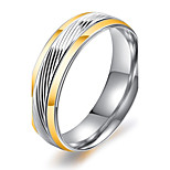 Муж. Классические кольца Цирконий Базовый дизайн Хип-хоп Готика Классика бижутерия Мода Винтаж Титановая сталь Круглый Бижутерия