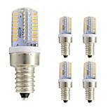 3W LED лампы типа Корн T 64 SMD 3014 260 lm Тёплый белый Холодный белый AC 220-240 V 5 шт. E12
