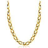 Муж. Ожерелья-бархатки Бижутерия Геометрической формы Позолота Природа Готика Chrismas Классика Мода Бижутерия Назначение Для вечеринок