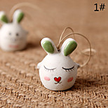 Сумка / телефон / брелок шарм кролик мультфильм игрушка керамика
