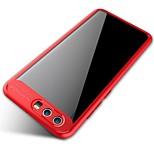 Etui til Huawei ære v9 ære 9 fuld beskyttende silikone akryl gennemsigtig bagcover