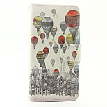 Case for wiko lenny 3 lenny 2 case cover the balloon pattern pu кожаные чехлы для wiko sunset 2