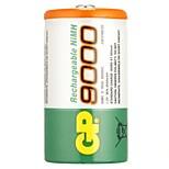 Gp перезаряжаемая батарея nimh 9000mah 1.2v