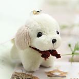 сумка / телефон / брелок шарм собака мультфильм игрушка искусственный мех diy для iphone 8 7 samsung galaxy s8 s7