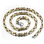 Муж. Ожерелья-бархатки Титан Мода Бижутерия Назначение Для вечеринок Повседневные