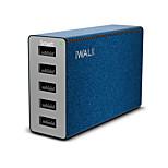 Зарядное устройство USB 5 портов Настольная зарядная станция С интеллектуальной идентификацией Универсальный Адаптер зарядки