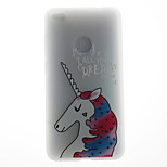 Чехол для huawei p8 lite (2017) p10 чехол чехол для unicorn модель 3d ремень для молока tpu материал телефон чехол для huawei p10 lite p10