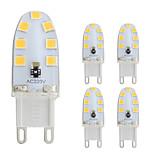 2W Двухштырьковые LED лампы T 14 SMD 2835 180 lm Тёплый белый Холодный белый AC 220-240 V 5 шт. G9