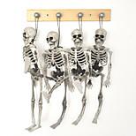 1pc Хэллоуин скелет детей размер висит реквизит преследует украшение дом череп скелет модель кости