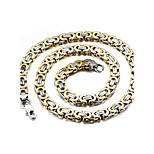 Муж. Ожерелья-бархатки Позолота Мода Бижутерия Назначение Для вечеринок Повседневные