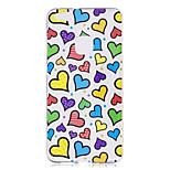 Etui til huawei p10 p10 lite case cover kærlighed mønster malet høj penetration tpu materiale imd proces blødt tilfælde telefon sag til
