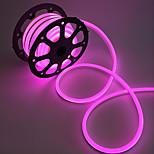 10W Гибкие светодиодные ленты 1000 lm AC220 V 1 м 120 светодиоды Теплый белый белый красный желтый синий зеленый розовый