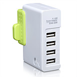 On hou1440g uk plug au plug phone usb charger fast charge power strips 4 порта USB 4a ac 100v-240v