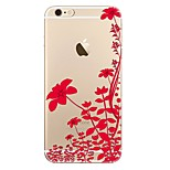 Чехол для iphone 7 7 плюс цветочный узор tpu мягкая задняя крышка для iphone 6 плюс 6 с плюс iphone 5 se 5s 5c 4s