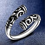 Муж. Жен. манжета кольцо Бижутерия Панк Серебрянное покрытие Крутящийся твист Бижутерия Назначение Повседневные Для улицы
