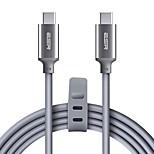 USB 2.0 Тип C Кабель, USB 2.0 Тип C to USB 3.1 Type C Кабель Male - Male 1.8M (6 футов)