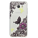 Case voor Samsung Galaxy J7 2017 j5 2017 telefoon hoesje vlinder patroon emboss soft tpu materiaal telefoon hoesje j3 2017 j710 j510 j310