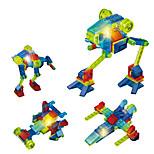 LED освещение Конструкторы Обучающая игрушка Для получения подарка Конструкторы Боец 6 лет и выше Игрушки