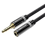 VENTION 3,5 мм аудио разъем Удлинитель, 3,5 мм аудио разъем to 3,5 мм аудио разъем Удлинитель Male - Female 1.5M (5Ft)