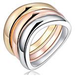 Жен. Кольца на вторую фалангу Классические кольцаБазовый дизайн Любовь Симпатичные Стиль Pоскошные ювелирные изделия Классика Elegant