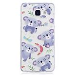Hoesje voor Samsung Galaxy a3 (2017) a5 (2017) hoesje hoesje panda patroon geverfd hoge penetratie tpu materiaal imd proces soft case