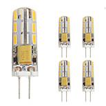 1W Двухштырьковые LED лампы T 24 SMD 4014 90 lm Тёплый белый Холодный белый V 1 шт. G4