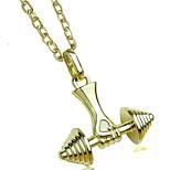 Муж. Жен. Ожерелья с подвесками Бижутерия Геометрической формы В форме свечи СплавПанк По заказу покупателя Хип-хоп Готика Pоскошные
