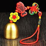 Сумка / телефон / брелок шарм звон колокол мультфильм игрушка китайский стиль деревянная медь случайный цвет