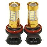 Sencart 2pcs h8 pgj19-1 проблесковая лампа водить автомобиль хвост поворот лампы заднего фонаря (белый / красный / синий / теплый белый)