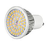 7W Точечное LED освещение 48 SMD 2835 600-700 lm Тёплый белый Холодный белый Естественный белый Декоративная V 1 шт. GU10