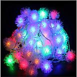 10m 60led rgb рождественский праздник строка свет свадебная вечеринка украшая занавес свет 220v