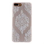 Tilfældet til Apple iPhone 7 7 plus case cover blonde print mønster 3d relief mælk tpu materiale telefon taske til iPhone 6s 6 plus se 5s